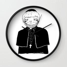 The Sloth Wall Clock