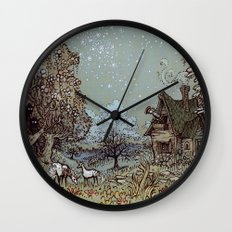 The Gardens of Astronomer Wall Clock