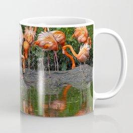 Flamingo Reflection Coffee Mug