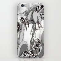 digimon iPhone & iPod Skins featuring + Digimon - Dorumon + by Xyeziaeos