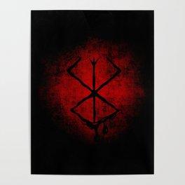 Black Marked Berserk Poster