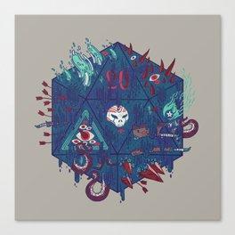 Die of Death Canvas Print