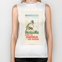 Vintage poster - Austria Biker Tank