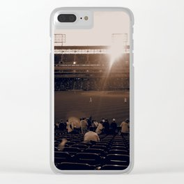 The Past Time Clear iPhone Case