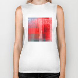 simple and red Biker Tank
