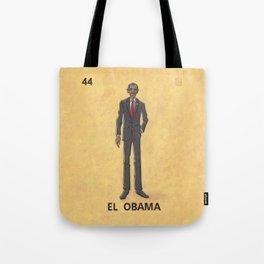 EL OBAMA Tote Bag