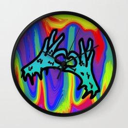 my psyche heart Wall Clock