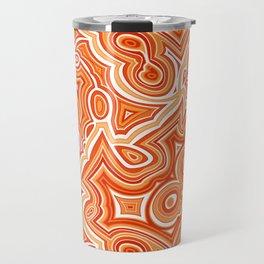 Red Agate Travel Mug