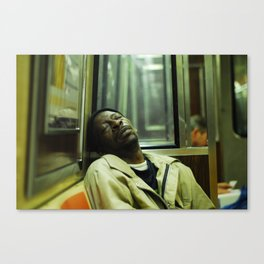 Knocked Out Canvas Print