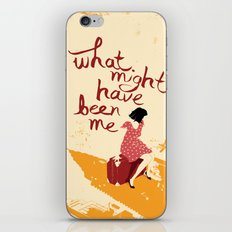 What Might Have Been Me iPhone & iPod Skin