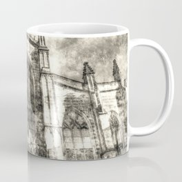 St Giles Cathedral Edinburgh Vintage Coffee Mug