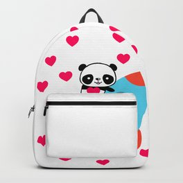 Rocketpanda in Love Backpack