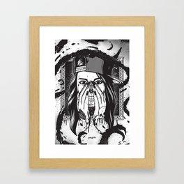 Pretty death ;) Framed Art Print