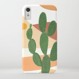Abstract Cactus II iPhone Case