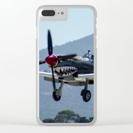 Supermarine Spitfire HF.VIII A58-758 / MV239 Clear iPhone Case