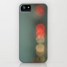 Brake Lights. iPhone Case