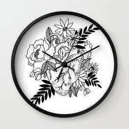 Bursting Heart Wall Clock
