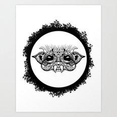 Half Creature Art Print