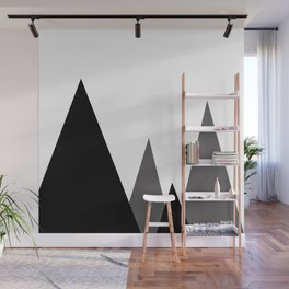 Geometric landscape Wall Mural