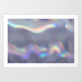 holographic Art Print