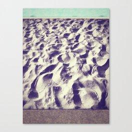 Midnight Sand  Canvas Print