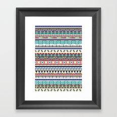 Christmas Sweater Framed Art Print