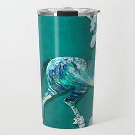 Unicorn of the Sea Travel Mug