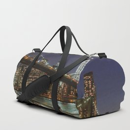 Brooklyn Bridge Nights Duffle Bag