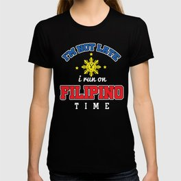 Funny Filipino Time T-shirt