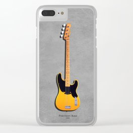 The Precision Bass 1951 Clear iPhone Case