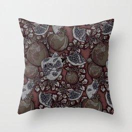 Persephone: Underworld Queen  Throw Pillow