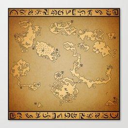 FF6 world of Ruin Canvas Print
