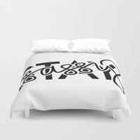 sassy Duvet Covers featuring Stay Sassy by The Creative Swell