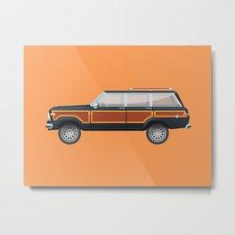 Grand Wagoneer Metal Print