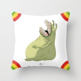 [A'sHMs] #BLOB Throw Pillow