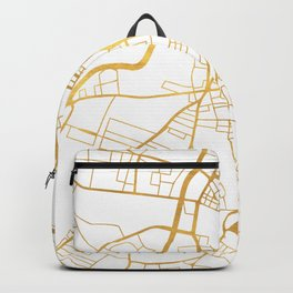 BELFAST UNITED KINGDOM CITY STREET MAP ART Backpack