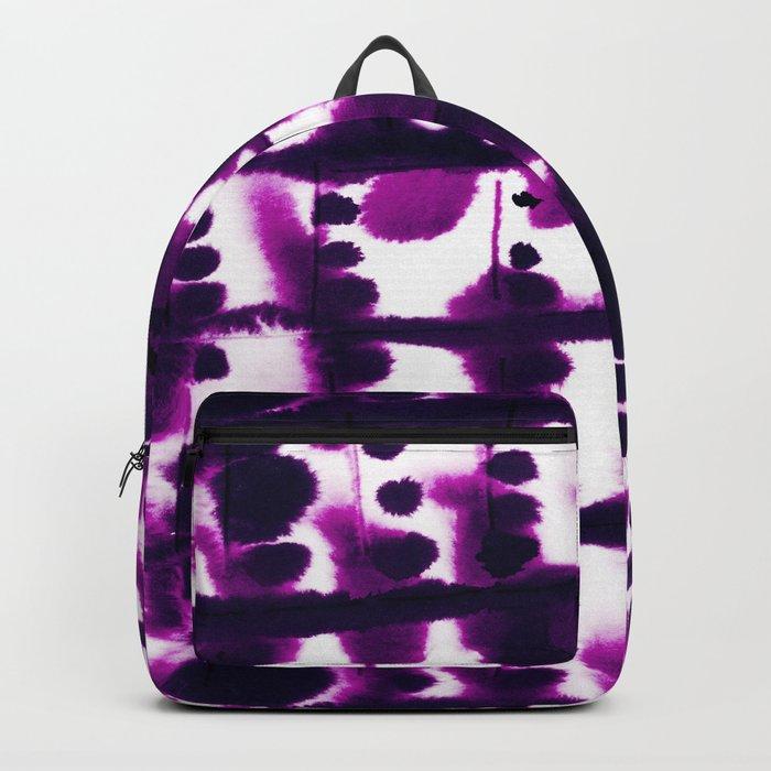 Parallel Purple Backpack