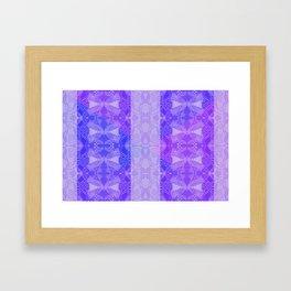 Dark bluish Framed Art Print