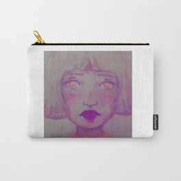 Peachy Pink Missing You Carry-All Pouch