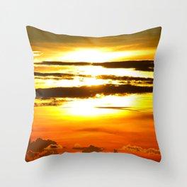 Sanibel Island Sunset Throw Pillow
