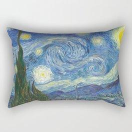 Starry Night - Vincent Van Gogh Rectangular Pillow