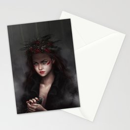 Falling from high places Stationery Cards