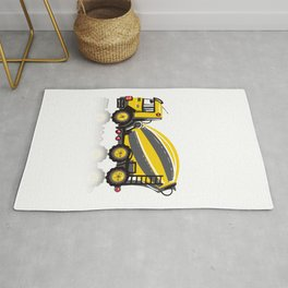 Cooper Cement Mixer - Sunny Yellow Rug