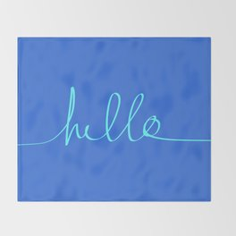 Hello, Sailor Throw Blanket
