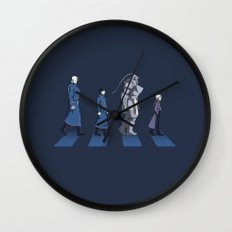 Central Road Wall Clock