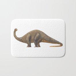 Dinosaur Apatosaurus or Brachiosaurus Bath Mat