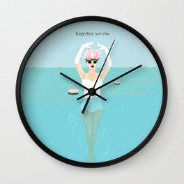 Women Rising Wall Clock