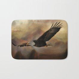 Eagle Flying Free Bath Mat