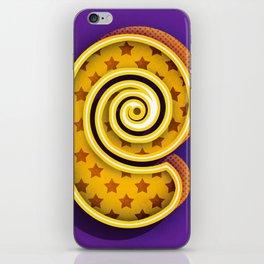 E like Eccentric iPhone Skin