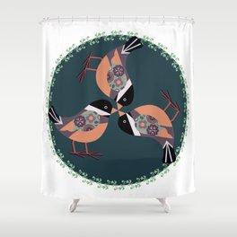 A Circle of fun Shower Curtain